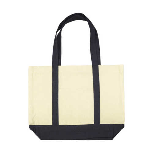 Hazel Canvas Shopping Bag