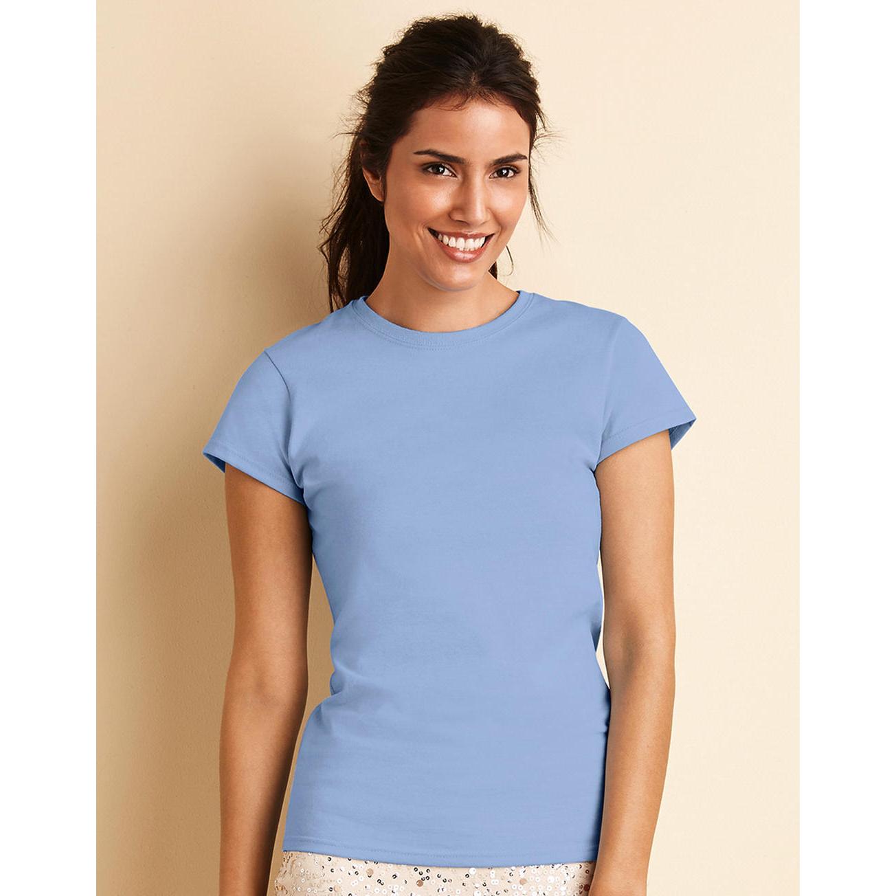 4908a66f998 Gildan Women s Premium Cotton RS T-Shirt - Grace   The Sea