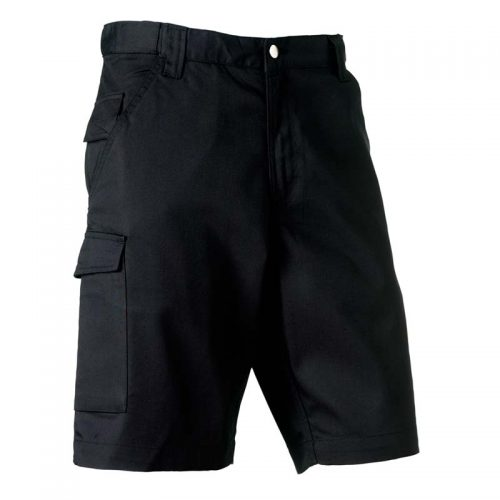 Russell Adults' Polycotton twill Shorts
